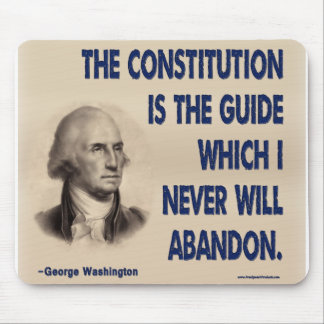 The Constitution is The Guide Mouse Pads