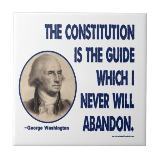 The Constitution is The Guide Tiles