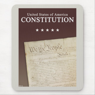 The Constitution Mouse Pad