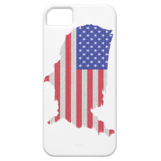 The Constitution of the U.S. Shaped as America iPhone SE/5/5s Case