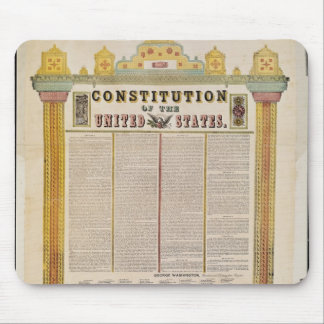 The Constitution of the United States of America Mouse Pad