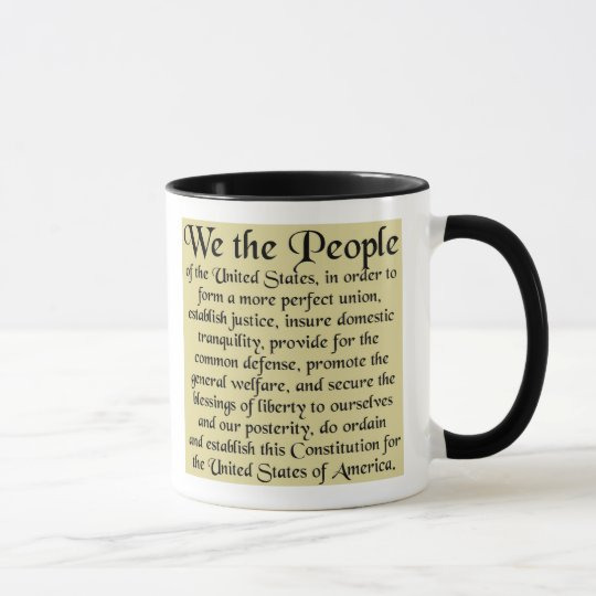 The Constitution of the United States of America Mug