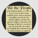 The Constitution of the United States of America Sticker