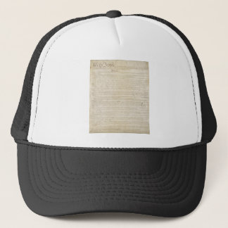 The Constitution of the United States of America Trucker Hat