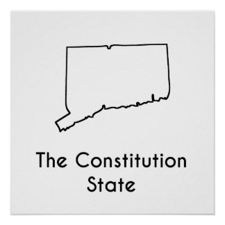 The Constitution State Poster