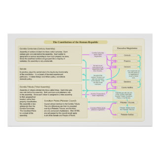 The Constitutional Structure of the Roman Republic Poster