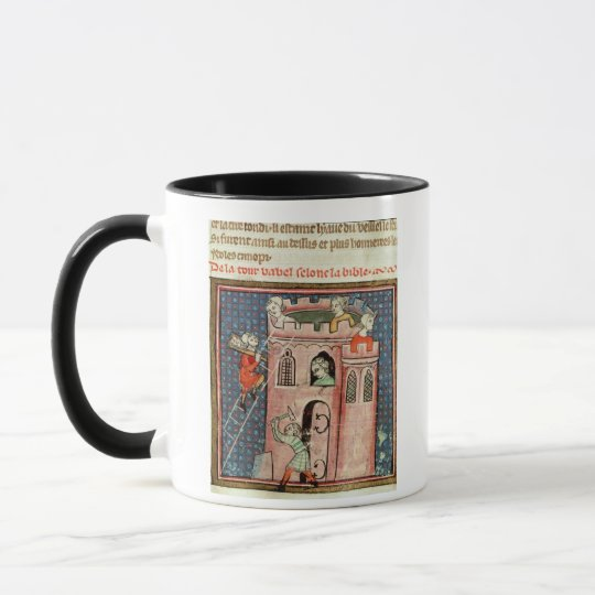 The Construction of the Tower of Babel Mug