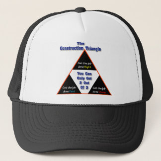 The Construction Triangle Trucker Hat