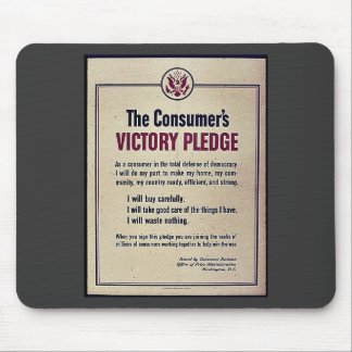 The Consumer's Victory Pledge Mouse Pad