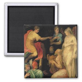 The Continence of Major Scipio (237-183 BC) (oil o Magnet