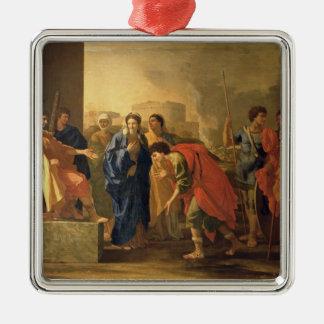 The Continence of Scipio, 1640 Metal Ornament