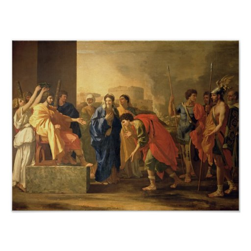 The Continence of Scipio, 1640 Poster