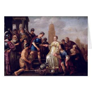 The Continence of Scipio  1643 Card