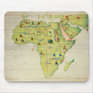 The Continent of Africa Mouse Pad