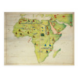 The Continent of Africa Post Card