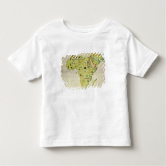 The Continent of Africa Toddler T-shirt