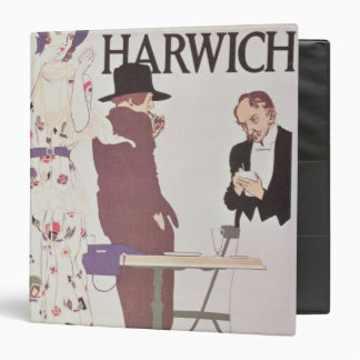 The Continent Via Harwich 3 Ring Binder