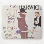 The Continent Via Harwich Mouse Pad