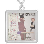 The Continent Via Harwich Square Pendant Necklace