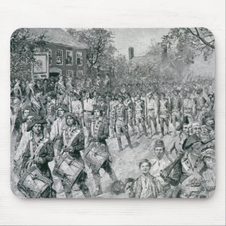 The Continental Army Marching Down the Old Mouse Pad