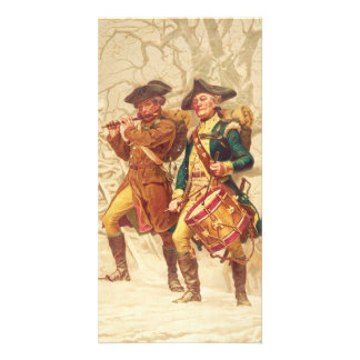 The Continentals by Frank Blackwell Mayer 1875 Card