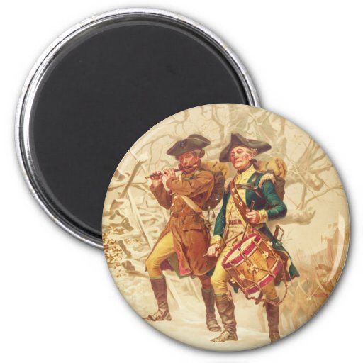 The Continentals by Frank Blackwell Mayer 1875 2 Inch Round Magnet