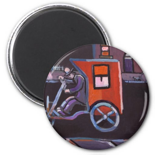 THE CONTRAPTION 2 INCH ROUND MAGNET