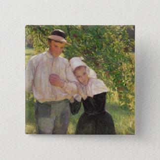 The Convalescent, 1896 Button