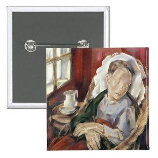 The Convalescent, 1930 Pinback Button