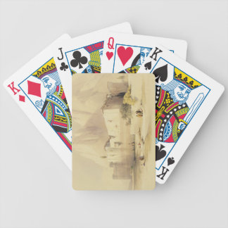 The Convent of St. Catherine, Mount Sinai, Februar Bicycle Playing Cards