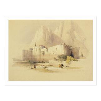 The Convent of St. Catherine, Mount Sinai, Februar Postcard