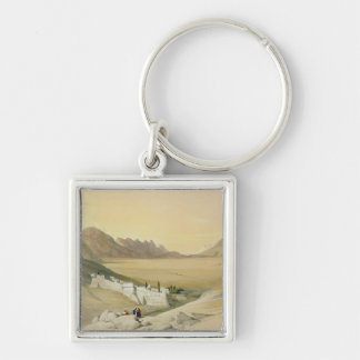 The Convent of St. Catherine, Mount Sinai Keychain