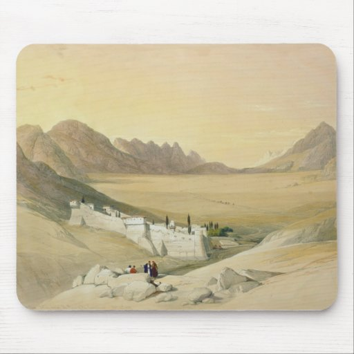 The Convent of St. Catherine, Mount Sinai Mouse Pad
