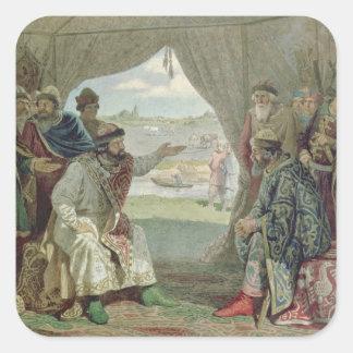 The Convention of Princes Square Sticker