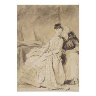 The Conversation by Fragonard Card