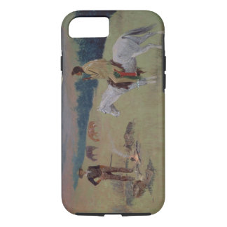 The Conversation, or Dubious Company (oil on canva iPhone 7 Case