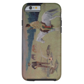The Conversation, or Dubious Company (oil on canva Tough iPhone 6 Case