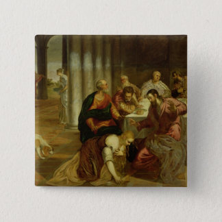 The Conversion of Mary Magdalene, 1546-7 Pinback Button