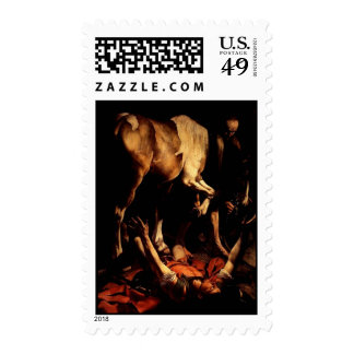 The Conversion of Saint Paul on the Way 2 Damascus Stamp