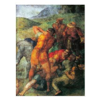 The Conversion of Saul (Paul) detail Postcard