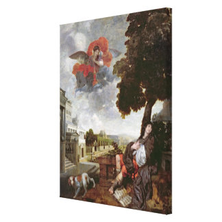 The Conversion of St. Augustine, c.1663 Gallery Wrap Canvas