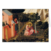 The Conversion of St. Augustine Card