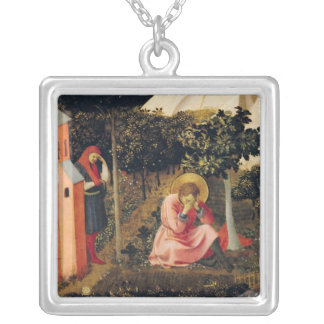 The Conversion of St. Augustine Silver Plated Necklace