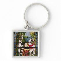 The Conversion of St. Eustace Keychain