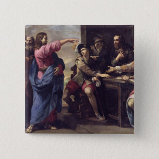 The Conversion of St. Matthew Pinback Button