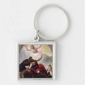 The Conversion of St. Paul Keychain