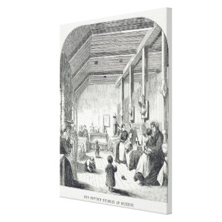 The Convict Nursery at Brixton, from 'The Criminal Canvas Print