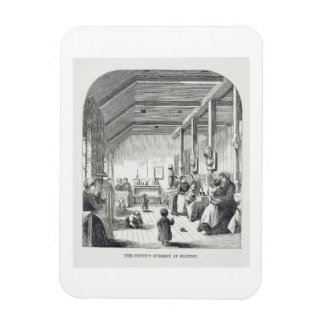 The Convict Nursery at Brixton, from 'The Criminal Rectangular Photo Magnet
