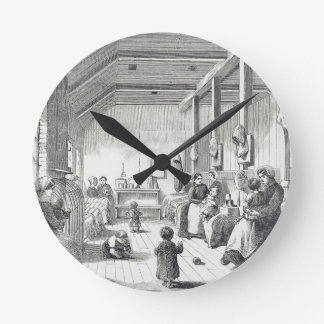 The Convict Nursery at Brixton, from 'The Criminal Round Clock