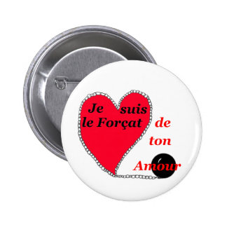The Convict OF the LOVE 1.PNG Pinback Buttons